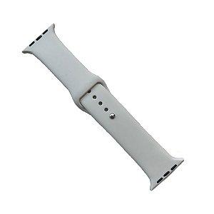 Pulseira Apple Watch Silicone 42mm - Cinza