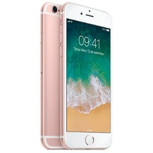 Apple iPhone 6S  32G Tela 4.7'' 12MP/5MP iOS 9 - Rosê