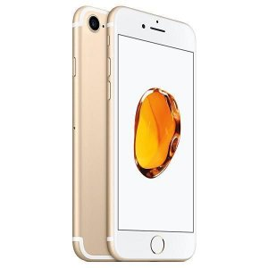 "Apple iPhone 7 A1778 BZ 32GB Tela Retina 4.7"" 12MP/7MP iOS 10 - Dourado"