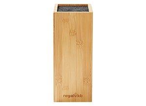 Cepo para Facas Royalvkb - em Bambu