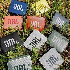 Speaker JBL Go 2 com Bluetooth/Auxiliar Bateria de 730 mAh