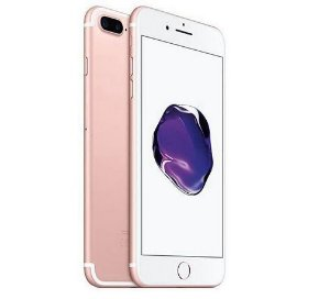 "Apple iPhone 7 Plus 128GB BZ A1784 Tela Retina 5.5"" 12MP/7MP iOS 10 - Rosê"