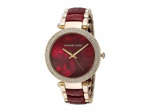 Relógio Michael Kors Feminino - Mk6427 Dourado Vinho