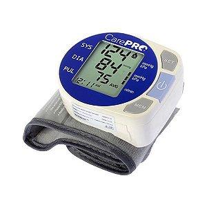 Aparelho de Pressão para Pulso CarePRO MP-200 com Detector de Arritmia - Branco/Azul