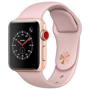 [NOVO]  Apple Watch Série 3 38 mm MQKH2ZP/A A1889 - Gold/Pink Sand