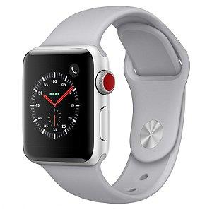 [NOVO] Apple Watch Série 3 38 mm MQKH2ZP/A A1889 - Silver\Fog