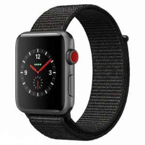 [NOVO]  Apple Watch Série 3 38 mm MQKH2ZP/A A1889 - Space Gray/Gray Sport