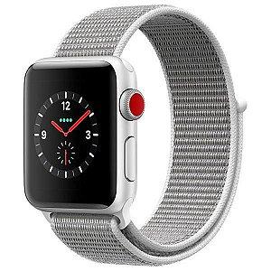 [NOVO] Apple Watch Série 3 38 mm MQKJ2ZP/A A1889 - Silver/Seashell