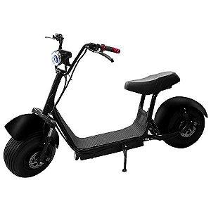 "Drift Scooter A6 Roda de 18"" 45 km/h - Preto"
