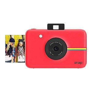 """Câmera Instantânea Polaroid Snap POLSP01R 10MP Imagem de 2x3"""" - Vermelho"""