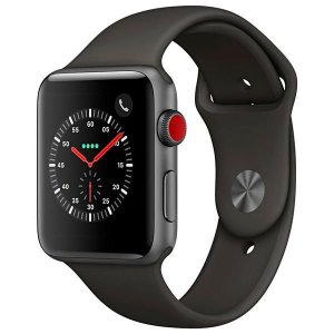[NOVO] Apple Watch Série 3 42 mm MR302ZP/A A1891 - Space Gray/Gray