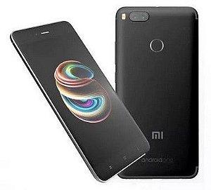 """Celular Xiaomi Mi A1 32GB LTE Dual Tela 5.5""""Câm.12/12MP+5MP - Preto"""
