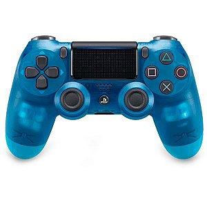 Controle Sem Fio Sony DualShock 4 CUH-ZCT2G para PlayStation 4 - Azul