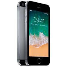 Apple iPhone SE  32G Tela 4'' 12MP/5MP iOS 9 - Cinza Espacial