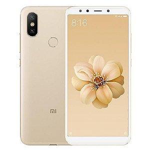 """Smartphone Xiaomi Mi A2 Dual SIM 64GB de 5.99"""" 12+20MP/20MP OS 8.1.0 - Dourado"""
