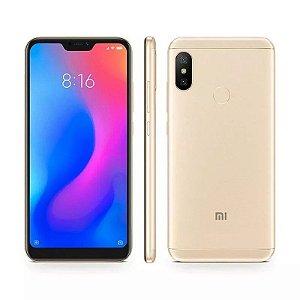 """Smartphone Xiaomi Mi A2 Lite Dual SIM 64GB de 5.84"""" 12+5MP/5MP OS 8.1.0 - Dourado"""