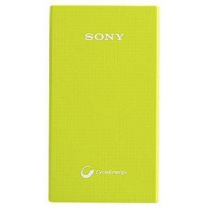 Carregador Portátil Sony CP-V5A de 5.000 mAh - Verde