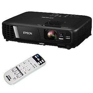Projetor Epson EX7240 (RB) 3200 Lúmens com Wi-Fi/HDMI/USB Bivolt - Preto
