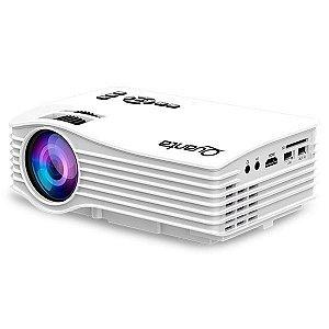 Projetor Quanta QTPRO500 30 ANSI Lúmens com Wi-Fi/HDMI/USB Bivolt - Branco