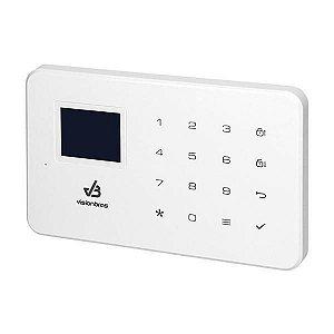 Alarme Residencial Visionbras VB-KS100 GSM iOS/Android - Branco