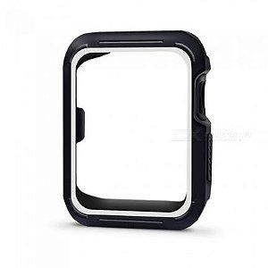 Bumper para Apple Watch - Preto e Branco