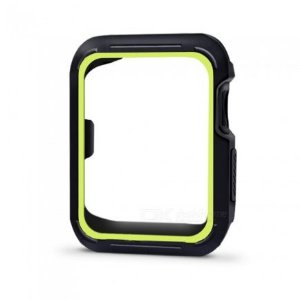 Bumper para Apple Watch - Preto e Verde