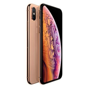 "Apple iPhone XS Max A1921 256GB Super Retina OLED de 6.5"" 12MP/7MP iOS - Dourado"