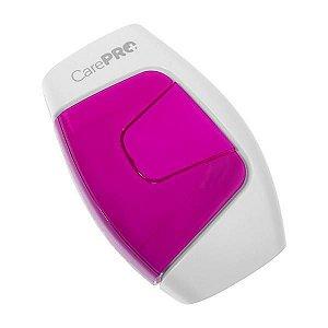 Depilador Elétrico a Laser CarePro DL150 com HPL e Sensor de Pele - Branco/Roxo
