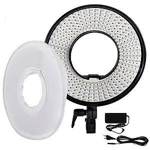 Iluminador LED Falcon Eyes DVR-300DVC com 300 LEDs de 3000K - 7000K