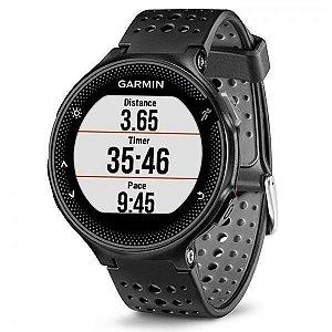 """Relógio Garmin Forerun 235 1.23""""/GPS/Sensor de Frequência Cardíaca/Acelerômetro – Preto"""