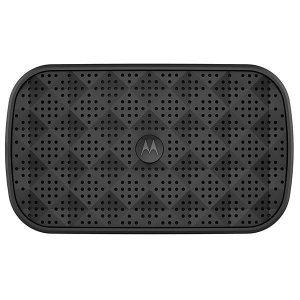 Speaker Motorola Sonic Play 100 SP006 BK 1.5 W com Bluetooth/Auxiliar - Preto