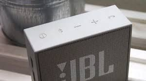 Speaker JBL Go com Bluetooth/Auxiliar Bateria 600 mAh - Cinza