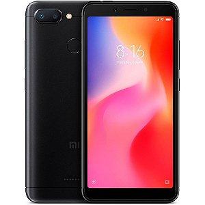 """Smartphone Xiaomi Redmi 6 Dual SIM 32GB Tela de 5.45"""" 12+5MP/5MP OS 8.1.0 - Preto"""