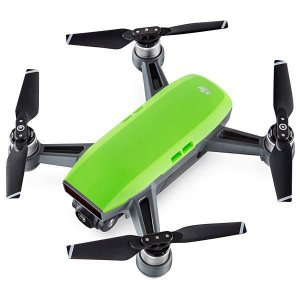 Drone DJI Spark Fly More Combo de 12MP Full HD com Wi-Fi - Verde