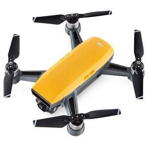 Drone DJI Spark Fly More de 12MP Full HD com Wi-Fi - Amarelo
