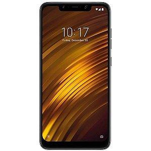 "Smartphone Xiaomi Pocophone F1 Dual SIM 64GB Tela de 6.18"" 12+5MP/20MP OS 8.1.0 - Cinza"