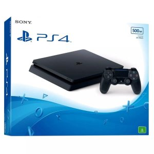 Console PlayStation 4 Slim 500GB - Preto - Bivolt