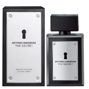 PERFUME ANTONIO BANDERAS THE SECRET MASCULINO EAU DE TOILETTE  100 ML