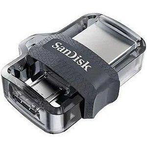 Pen Drive Sandisk P/celular 64gb Dual Usb Drive 3.0 Original