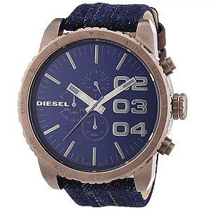 Relógio Diesel Dz4284 Azul Jeans Original
