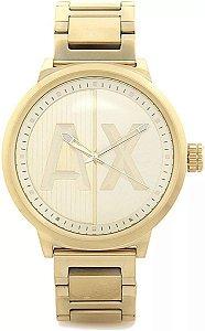 Relógio Armani Exchange Ax1363 Original Dourado Masculino
