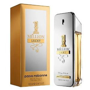 1 Million Lucky Paco Rabanne - Perfume Masculino - Eau de Toilette - 100ml