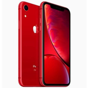 "Apple iPhone XR A2105 64GB Tela Liquid Retina 6.1"" 12MP/7MP iOS - Vermelho"
