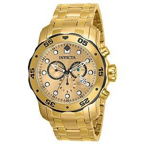 Relógio Invicta Pro Diver-80070 - Dourado