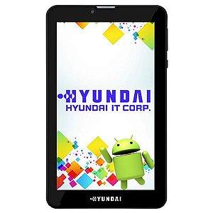 """Tablet Hyundai Maestro Tab HDT-7427G+ Dual SIM 8GB Tela 7.0"""" 2MP/VGA OS 7.0 - Preto"""