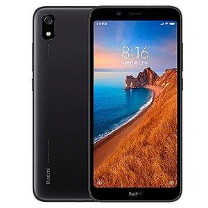 "Smartphone Xiaomi Redmi 7A Dual SIM 16GB de 5.45"" 13MP/5MP OS 9.0 - Preto Matte"