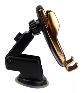 Suporte Veicular Wiriless Para Smartphone H'Maston Pro R1