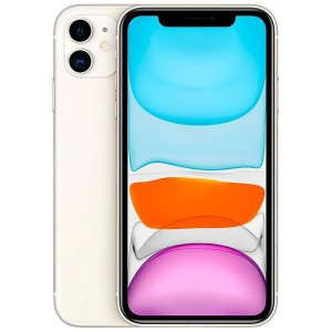"Apple iPhone 11 A2221 64GB Liquid Retina de 6.1"" Dupla 12MP/12MP iOS"