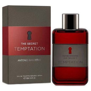 *( 25% OFF )* Perfume Masculino Antonio Banderas The Secret Temptation - Eau De Toilette 100ml