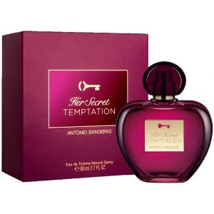 Her Secret Temptation Antonio Banderas Perfume Feminino - 80ml